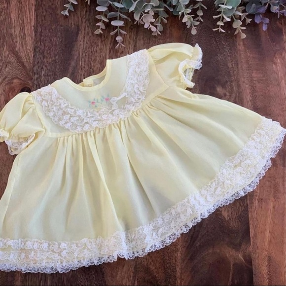 Vintage Dress/Top, Size 6-12 months